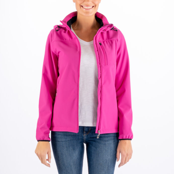 Niccole Zip Fleece Jacket Cerise Melange – Sebago Sverige